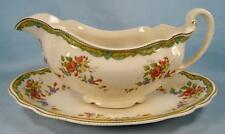Lichfield Gravy Boat & Underplate Johnson Brothers England Old Staffordshire (O)