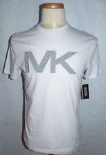 MICHAEL KORS DESIGNER GRAPHIC T-SHIRT**XL**FASHION 1 WHITE**SPECIAL SALE