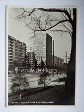 MILANO TRAM Tramway Piazzale Fiume vecchia cartolina