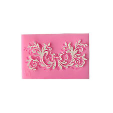 Silicone Embossing Mold Gum Paste Lace Fondant Mold Cake Lace Decorate Sugar Mat