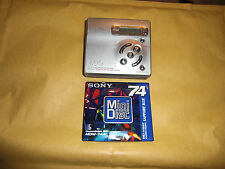 Sony Walkman Portable MD Recorder MZ r501 funziona Works Lago Foto