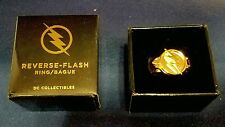 REVERSE FLASH RING *OFFICIAL* DC COMIC TV PROP REPLICA NEW ZOOM CW ARROW LEGENDS