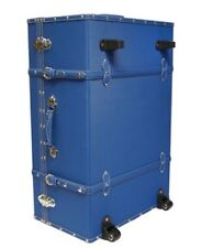 Pacific Blue Travel Luggage Trunk