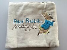 Baby Kids Children FRENCH Peter Rabbit Educational Soft Cloth Story Book Toy