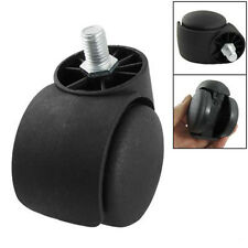 """Hot Sale!Replacement 2"""" TwIn Wheel Rotate Caster Roller For Office CHair SG"""