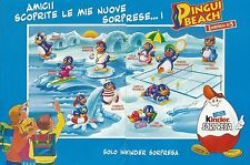 X9473 Kinder Sorpresa - PINGUI BEACH - Ferrero - Pubblicità 1994 - Advertising