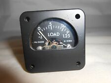 134255 load meter  -.1 - 1.25   NEW OLD STOCK