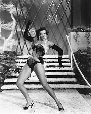 BEAUTIFUL BUSTY JANE RUSSELL SEXY LEGGY 8X10 LEGS PHOTO A-JR14
