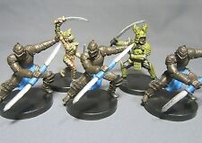 Dungeons & Dragons Miniatures Lot  Dragon Samurai Brass Samurai !!  s91