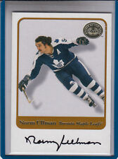 "2001-02 FLEER GREATS OF THE GAME NORM ULLMAN ""TORONTO MAPLE LEAFS AUTOGRAPH AUTO"