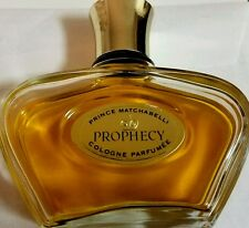 VTG RARE PRINCE MATCHABELLI 4 OZ PROPHECY COLOGNE PARFUMEE WOMEN'S FRAGRANCE %50