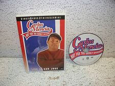 Carlos Mencia Not for the Easily Offended Live In San Jose DVD Out of Print