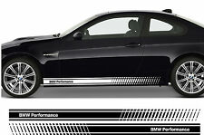 BMW Performance Premium Side Stripes Stickers Decals Series 1 3 5 M3 M5 Z3 Z4 02