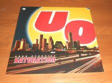 Uo Urge Overkill Saturation 2-Sided Flat Square Poster 12x12