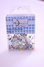 Glass Head Pins 80pcs