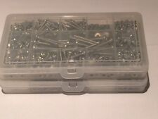 Stainless Steel Screws Pozi Pan Head, Nuts,Washers,Wing Nuts 590 pcs model kit