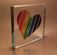 Spaceform  Rainbow Heart  Romantic Love Gifts Ideas For Her Him Birthdays 1946