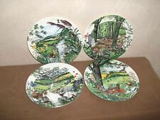 WEDGWOOD LTD EDITION DECORATIVE PLATES X 4