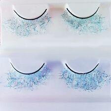 1 Paar Lace Hellblau für Partei künstlich Falsche Wimpern False Eyelash #LC028