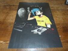 GORILLAZ - Mini poster couleurs !!!!!!!!!