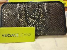 Versace Jeans  portafoglio - Col. Blu pitonato