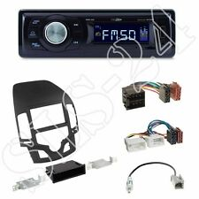 Caliber RMD021 Autoradio + Hyundai i30 (FD/FDH) 2-DIN Blende black + ISO Adapter