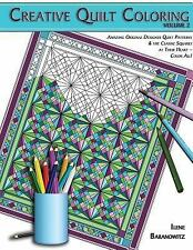 Creative Quilt Coloring Adult Coloring Book