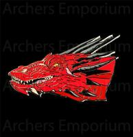 Hobbit, Smaug Collectors Pin Badge. Weta Collectables. Red Dragon. LotR. New