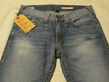 NWT True Religion Ricky Core Straight 33Wx32L Men's Jeans $198 MSRP Made in USA!