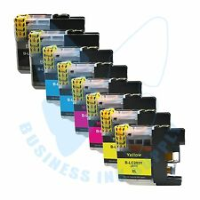 8 PACK New LC 203XL 203 Ink Cartridges For Brother J4620DW J480DW J5720DW J885DW