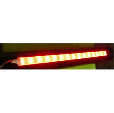 300mm Flexible Stick-On Red LED Strip Light For Kit Car, Classic