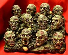 Nemesis Now ZOMBIFIED HEAD HORDE COLLECTION & BASE Undead Zombie 12 Heads & Base