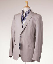 NWT $795 Z ZEGNA Slim 'Drop 8' Lightweight Cotton Sport Coat Eu56L (fits 44 L)