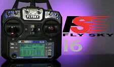 New FlySky FS-i6 2.4G 6CH AFHDS RC Transmitter FS-iA6 Receiver Remote Controller