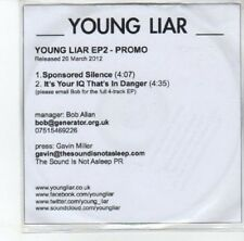 (DK87) Young Liar, Young Liar EP 2 - 2012 DJ CD