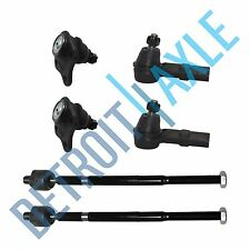 Brand New 6pc Front Tie Rod End Kit + 2 Lower Ball Joints VW Beetle Golf Jetta