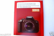 LCD Monitor Protector Film for Canon EOS 5D MARK III Digital SLR Camera