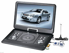 "10.1"" Portable Rotatable Screen DVD Player with Game FM Function USB MC Port"