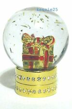ESTEE LAUDER BEAUTIFUL SNOW GLOBE SOLID PERFUME COMPACT 2015 EMPTY UB