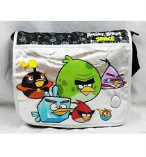 Angry Birds Space Large Messenger Diaper Computer Bag Licensed by Rovio- Black