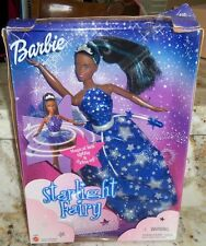 BARBIE STARLIGHT FAIRY AFRICAN AMERICAN BLACK DOLL MAGICAL BELT SPINS LIGHTS UP