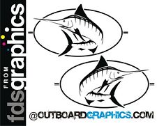 Pair of Bayliner Trophy Marlin sticker/decals