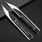 2pcs Auto car Dagger Fender Emblems Sticker Badge fit for Black ECOBOOST Sports