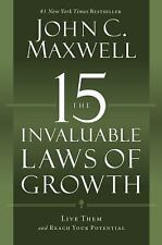 THE 15 INVALUABLE LAWS OF GROWTH [978159995366 - JOHN C. MAXWELL (HARDCOVER)