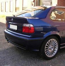 BMW E36 3 Series Hatchback Euro Rear Trunk Spoiler Lip Wing Sport Trim Lid M