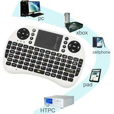 2.4G Mini Built-in Russian/English Wireless keyboard & Fly Air Mouse White V7H5