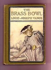 THE BRASS BOWL (Louis Joseph Vance/1st US/author of the Lone Wolf series)