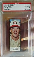 1968 BAZOOKA PETE ROSE PSA 4