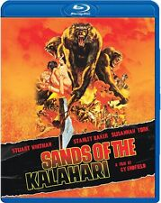Sands of the Kalahari (1965 Stuart Whitman) Region A - BLU RAY - Sealed