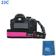JJC ST-1P Wrist Strap neoprene Quick release clip two parts fiber Pink  Camera